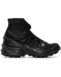 Yves Salomon - Black Limited Edition S/lab Snowcross High-top Sneakers - Lyst