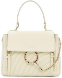 Chloé - White Quilted Faye Day Bag - Lyst