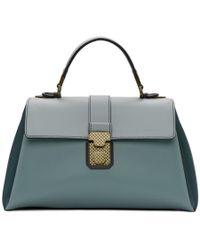 Bottega Veneta - Blue Medium Piazza Bag - Lyst