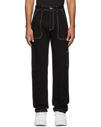 Versace - Black Logan Jeans - Lyst