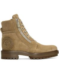 Balmain | Tan Ranger Boots | Lyst