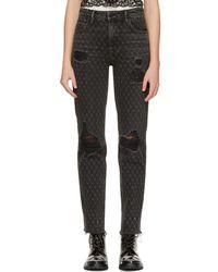 Alexander Wang - Grey Cult Net Jeans - Lyst