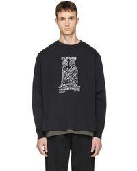 Second/Layer - Black Long Sleeve Midnight Magic T-shirt - Lyst