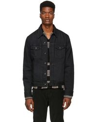Rag & Bone - Black Definitive Jean Denim Jacket - Lyst