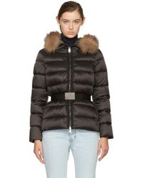 Moncler - Tatie Down Jacket With Fox Fur - Lyst