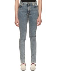 Gucci - Blue Marble Wash Jeans - Lyst