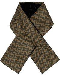 Fendi - Reversible Brown Forever Scarf - Lyst