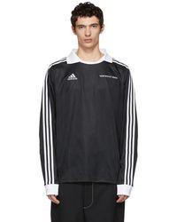 Gosha Rubchinskiy - Black Adidas Originals Edition Jersey Shirt - Lyst