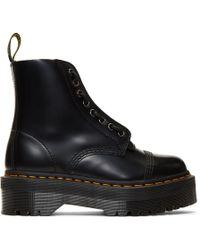 Dr. Martens - Black Sinclair Boots - Lyst