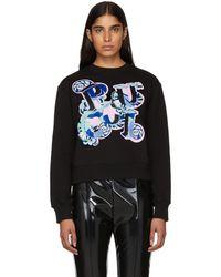 Emilio Pucci - Black Pucci Sweatshirt - Lyst