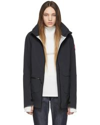 Canada Goose - Black Pacifica Raincoat - Lyst