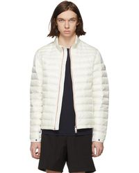 Moncler - White Down Daniel Jacket - Lyst