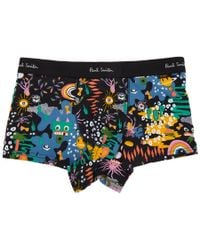 Paul Smith - Black Monster Print Low-rise Boxer Briefs - Lyst