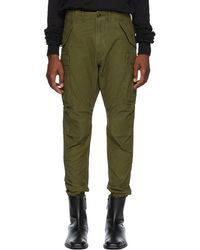 R13 - Green Surplus Military Cargo Trousers - Lyst