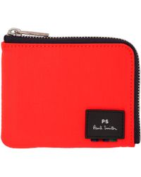 PS by Paul Smith | Orange Zipped Card Holder | Lyst
