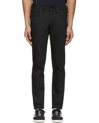 Naked & Famous - Black Superskinny Guy Jeans - Lyst