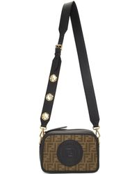Fendi - Black Roma Italy 1925 Camera Bag - Lyst