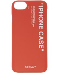 Off-White c/o Virgil Abloh - Red Quote Iphone 8 Case - Lyst