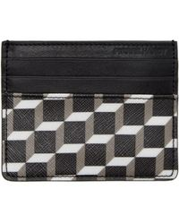 Pierre Hardy - Black Perspective Cube Fw02 Card Holder - Lyst
