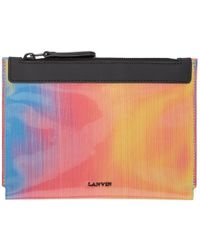 Lanvin - Multicolor Iridescent Pouch - Lyst