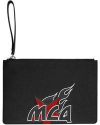 McQ - Black Logo Tablet Pouch - Lyst