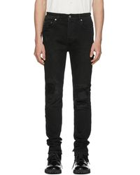 Ksubi - Black Chitch Distressed Jeans - Lyst