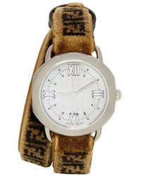 Fendi - Brown Forever Selleria Set Watch - Lyst
