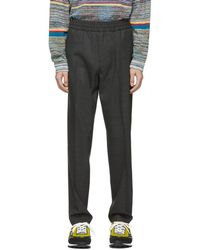 Acne Studios - Grey Ryder Trousers - Lyst