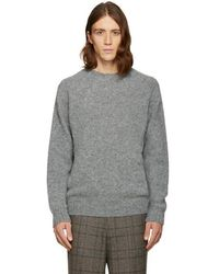 Noah - Grey 'cross Country' Jumper - Lyst