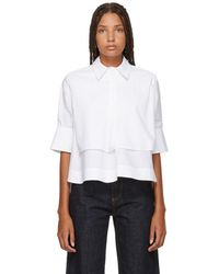 Carven - White Layered Shirt - Lyst
