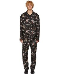 Haider Ackermann - Black Freesia Saglia Jumpsuit - Lyst