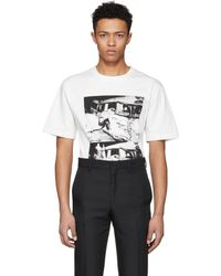 CALVIN KLEIN 205W39NYC - Off-white Ambulance Disaster T-shirt - Lyst