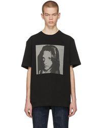 CALVIN KLEIN 205W39NYC - Black Sandra Brant Pocket T-shirt - Lyst