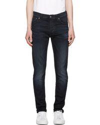 Nudie Jeans - Indigo Tilted Tor Jeans - Lyst