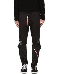 99% Is - Black Bondage Zip Lounge Pants - Lyst