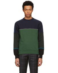 PS by Paul Smith - Multicolour Colorblock Crewneck Sweatshirt - Lyst
