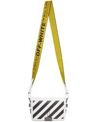Off-White c/o Virgil Abloh - Sac a rabat blanc Diagonal Mini Binder Clip - Lyst