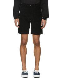 Noon Goons - Black Corduroy Club Shorts - Lyst