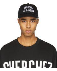 Etudes Studio - Black Orly Cherchez Le Garcon Cap - Lyst