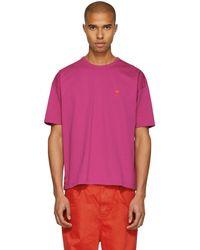 AMI - Ssense Exclusive Pink Ami De Coeur T-shirt - Lyst