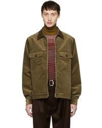 PS by Paul Smith - Tan Corduroy Jacket - Lyst