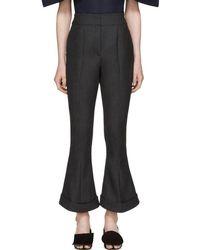 Jacquemus - Grey 'le Pantalon Nino' Trousers - Lyst