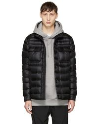 Moncler - Black Down Forbin Jacket - Lyst