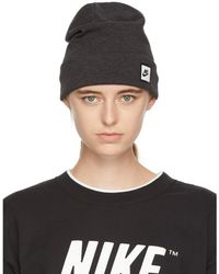 Nike - Grey Nsw Tech Beanie - Lyst