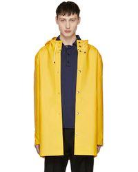 Stutterheim | Yellow Stockholm Raincoat | Lyst