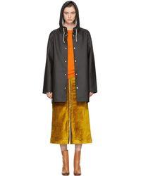 Stutterheim - Black Stockholm Raincoat - Lyst
