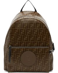 Fendi - Logo Backpack - Lyst