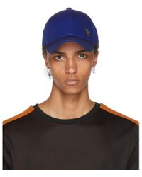 PS by Paul Smith - Blue Zebra Baseball Cap - Lyst