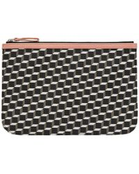 Pierre Hardy - Multicolor Large Canvas Cube Pouch - Lyst