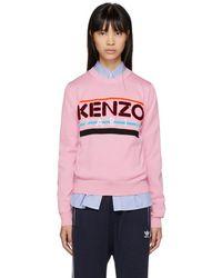 KENZO - Pink Paris Jumper - Lyst